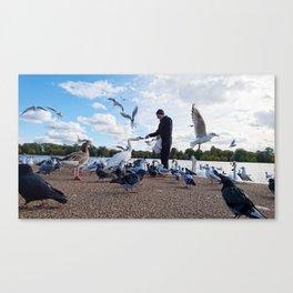 Birdman IV Canvas Print