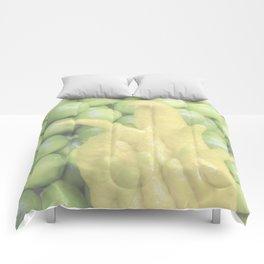 """Buddha's Hand"" Food Art by Murray Bolesta Comforters"