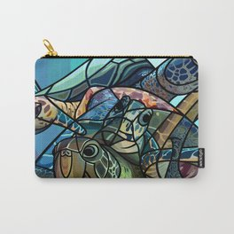 Soaring Below Sea-Level Carry-All Pouch