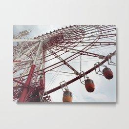 The big big wheel Metal Print