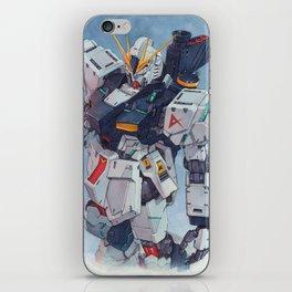 Nu Gundam watercolor iPhone Skin
