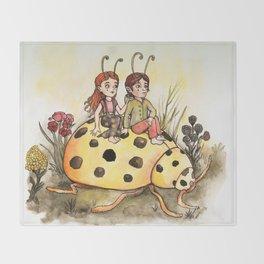 Ladybug Friends Throw Blanket