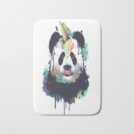 Ice cream pandacorn Bath Mat