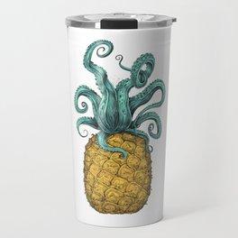 Octopus Pineapple Travel Mug