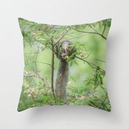 A Fairytale Tail Throw Pillow