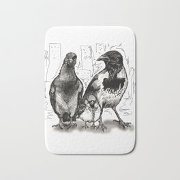 Urban Birds Bath Mat