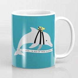 Zissou Dolphin Coffee Mug