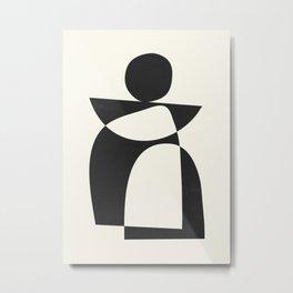 Minimal Abstract Art 39 Metal Print