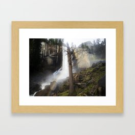 Mist Trail Framed Art Print