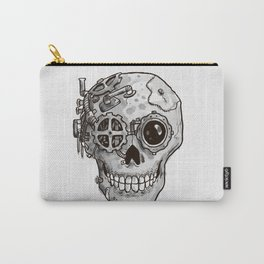 Steampunk Skull Carry-All Pouch