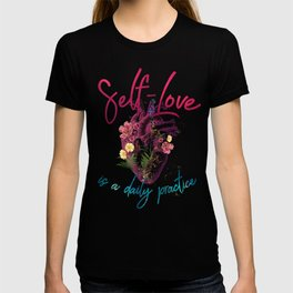 Kelly-Ann Maddox Collection :: Self-Love (Illustrated) T-shirt