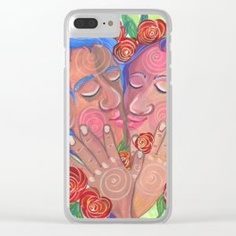 Love's bloom Clear iPhone Case