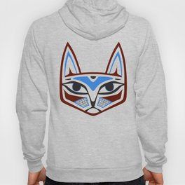 Native American Cat Head Hoody