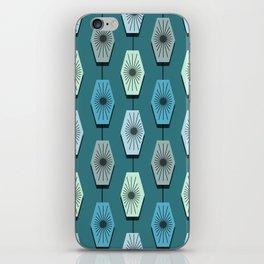 Mid Century Modern Pattern iPhone Skin