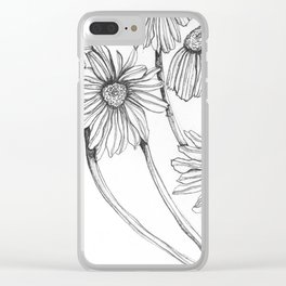 awake in the day2 Clear iPhone Case