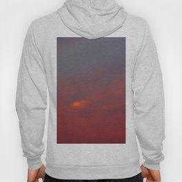 Red cloud shining at sunset Hoody