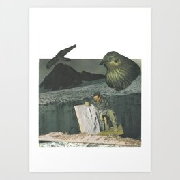 The Birds are Not What They Seem Art Print