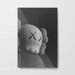 """Grayscale Sorrow"" KAWS - Print 1 Metal Print"