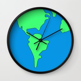Earth (7-2-19) Wall Clock