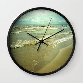 Summer on Lake Michigan Wall Clock