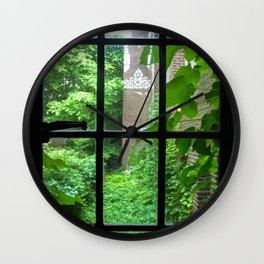 Founders Window Wall Clock
