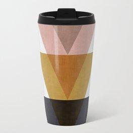 Minimalist Triangles Travel Mug