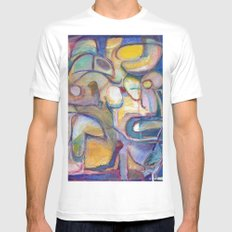 All Limbs Akimbo Mens Fitted Tee SMALL White
