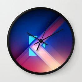 Fusion Blu Wall Clock