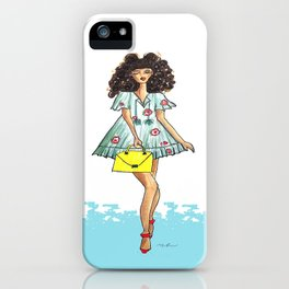 Beach girl iPhone Case
