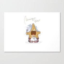 morning_star_01 Canvas Print