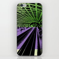 washington dc iPhone & iPod Skins featuring Washington DC Metro by Amy Smith - ColorScape