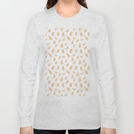 Feather pattern soft pink Long Sleeve T-shirt