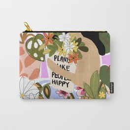 Plants Make People Happy Carry-All Pouch