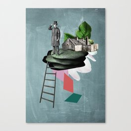 Surreal Collage Canvas Print