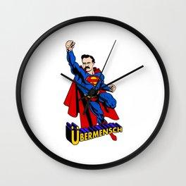 Ubermensch Wall Clock