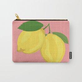 Lemon Salmon Carry-All Pouch