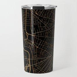 Cambridge map, Massachusetts Travel Mug