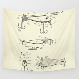 Fish Lure-1956 Wall Tapestry