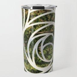 Abstract Rose Travel Mug