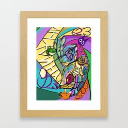 923923923923923923 Framed Art Print
