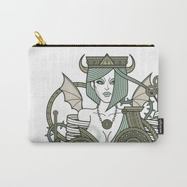 SINS Mentis - Envy Queen of Clubs Carry-All Pouch