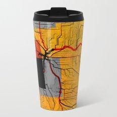 DOWNTOWN Metal Travel Mug