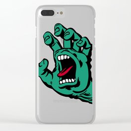 CATCH AND BITE Clear iPhone Case