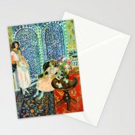 Henri Matisse The Moorish Screen Stationery Cards
