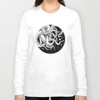 octopus Long Sleeve T-shirts featuring Octopus by Corinne Elyse