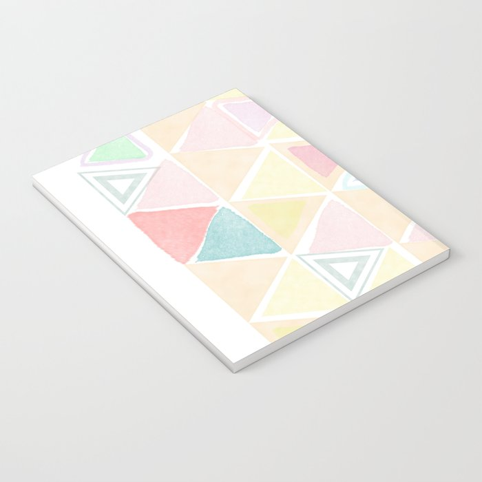 Triangle watercolor fantasy Notebook