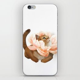 The king of flowers iPhone Skin
