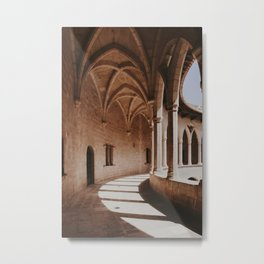 Palma de Mallorca castle | Fine Art Travel Photography Metal Print