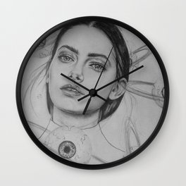 Planet Eyeball Wall Clock