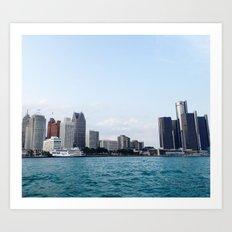 Detroit Art Print